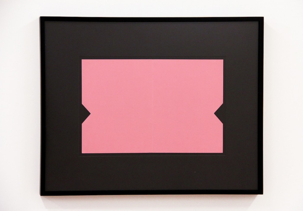 Matthew Higgs, Lawrence Weiner, 2012, Framed book Cover, Framed: 19 3/4 x 26 in.