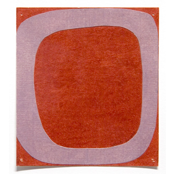David X. Levine, Can't Forget, 2003, colored pencil and collage on paper, Object: 5 x 4 1/2 in.